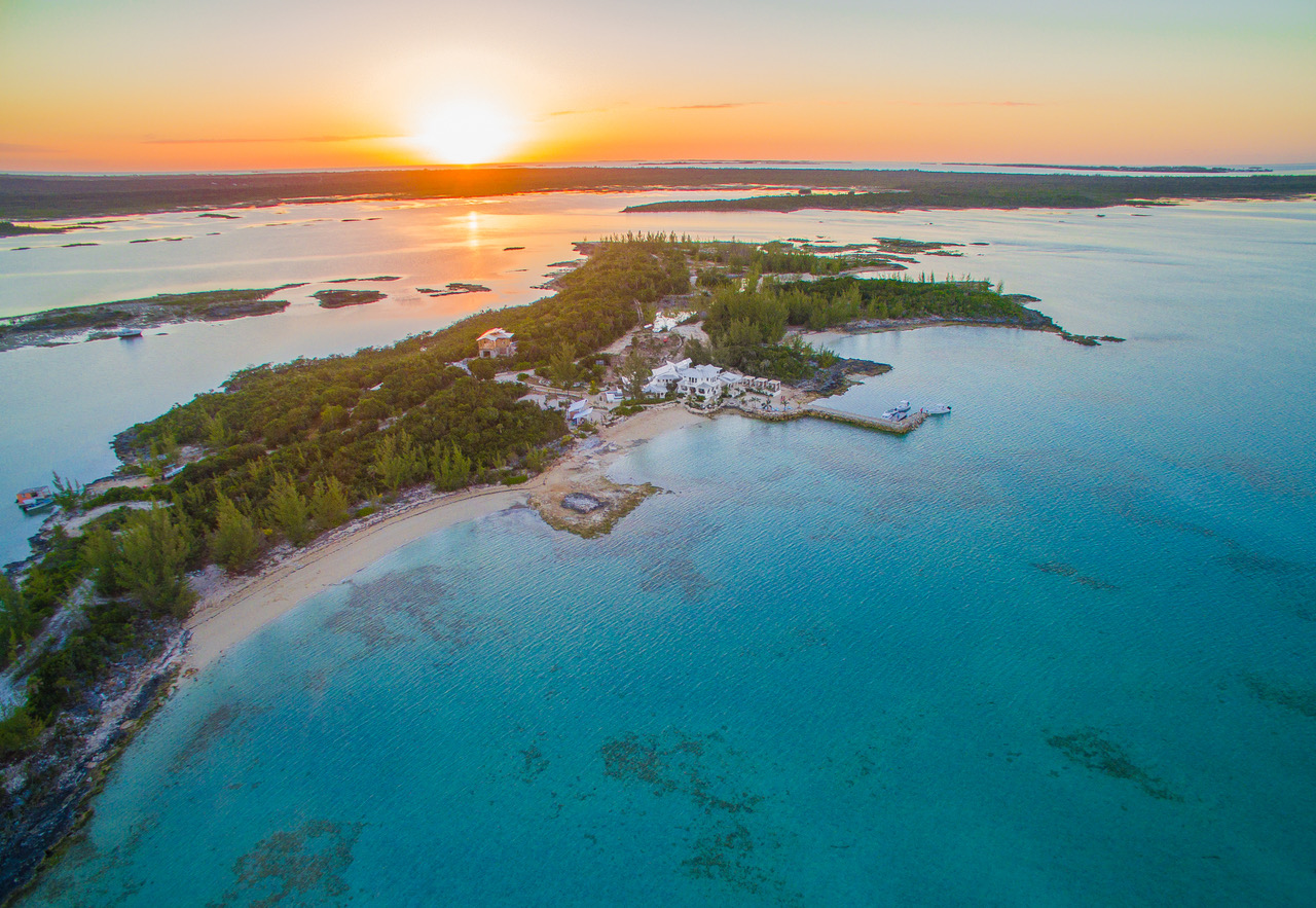 Aerial shot of STAR Island Bahamas. Photo by: PLJ Images Art in Motion